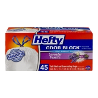 Use Hefty Trash Bags To Contain Your Waste