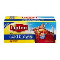 Lipton Cold Brew Iced Tea 22 Family Size Bags 4 8 Oz
