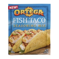Ortega tacos are engineered with quality products for Fish taco seasoning