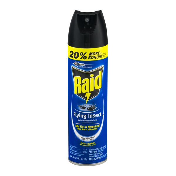 Raid Bug Spray A Necessary Spray In Our Insect Filled Lives